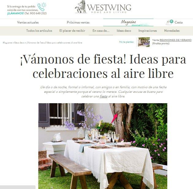 Consejos de decoración en Weswing