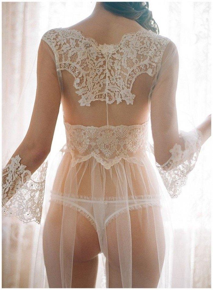 Como elegir la lencería de novia