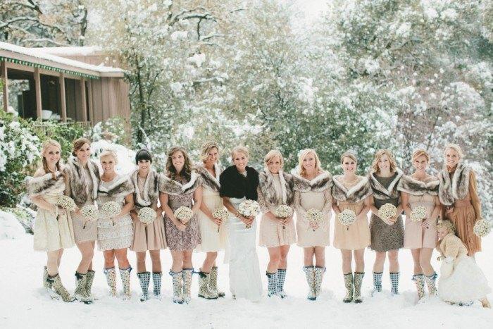 Boda en la Nieve invitadas