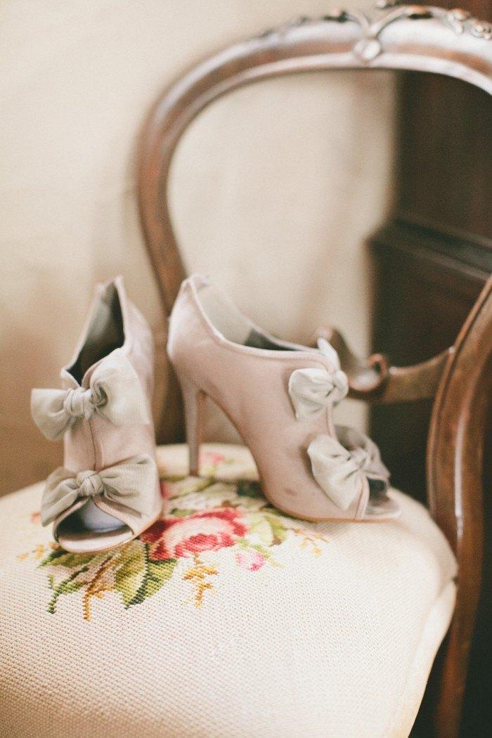 Boda en la Nieve botines de novia