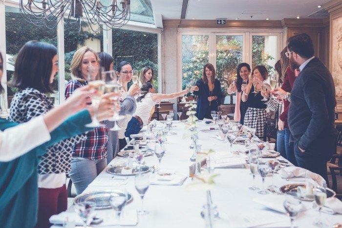 Wedding Breakfast Club brindar
