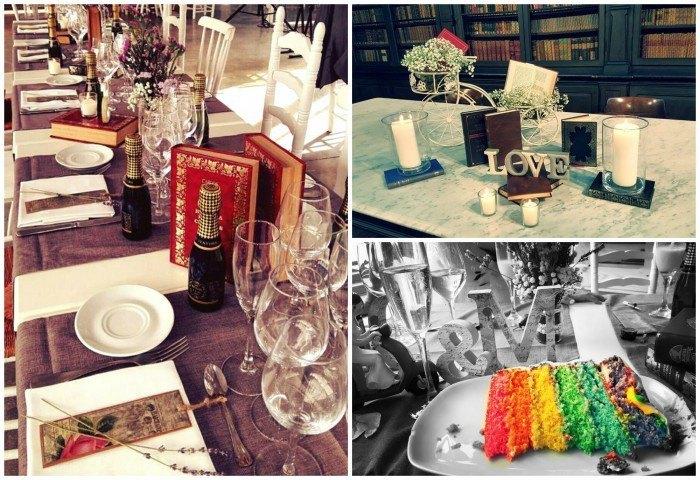 Wedding planners lazos de chocolate
