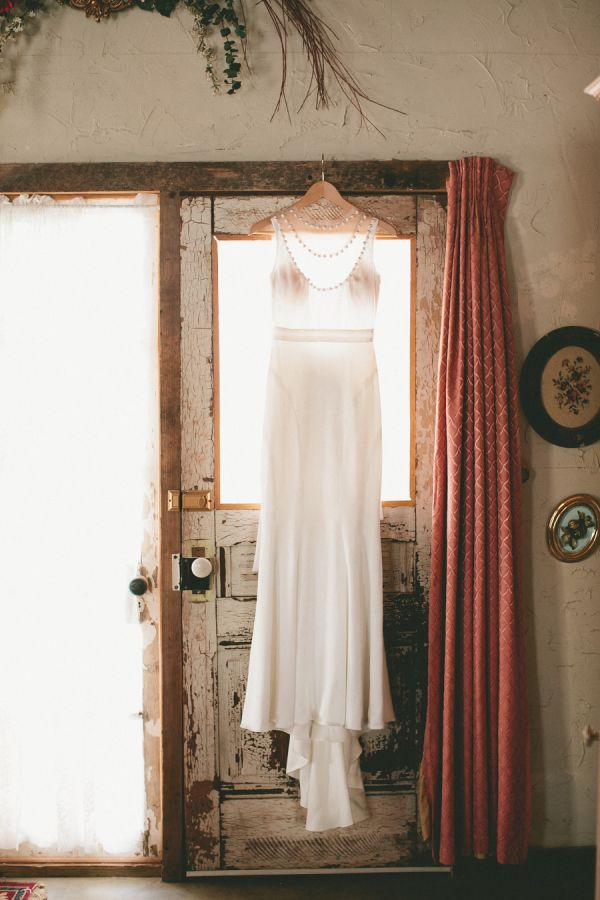 Boda en la Nieve vestido de novia