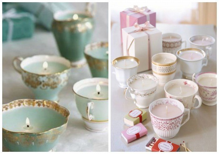 decorar tu boda con porcelana