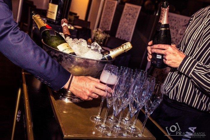 Boda Restaurante Abades Triana champagne