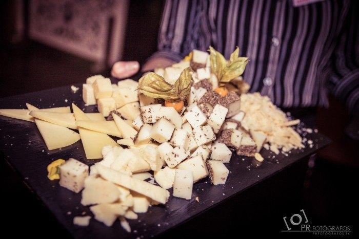 Boda Restaurante Abades Triana queso