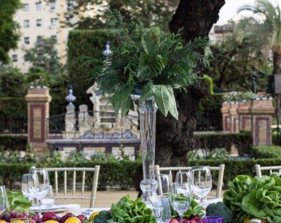 Catering Hindu Abades detalle mesa