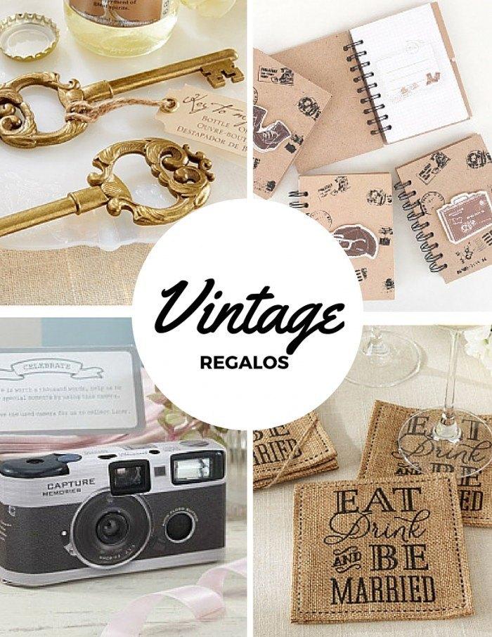 Regalos de bodas vintage muy originales diario de una novia for Ideas para regalos de boda