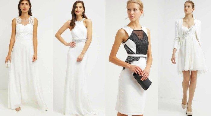 vestidos de novia low cost zalando