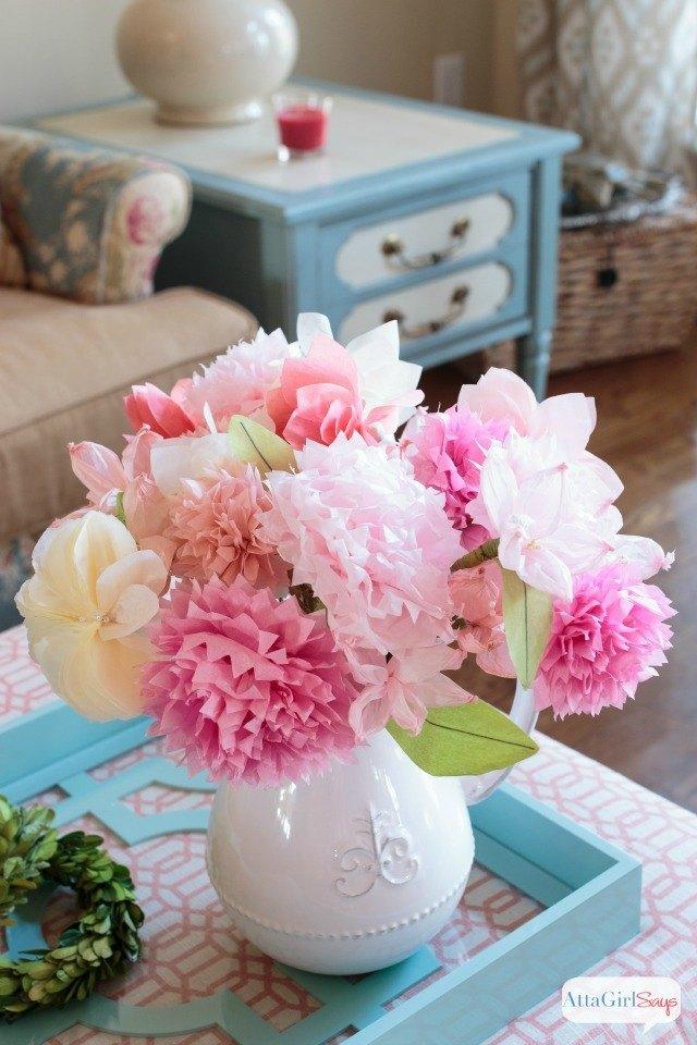 Como hacer flores de seda paso a paso - Como Hacer Flores de Papel de Seda