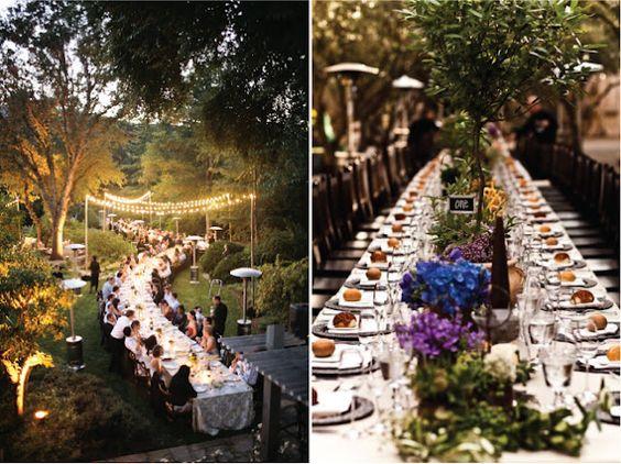 mesas imperiales para bodas
