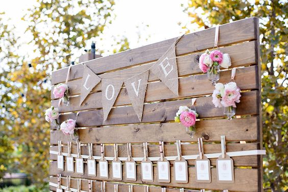 seating plan para una boda