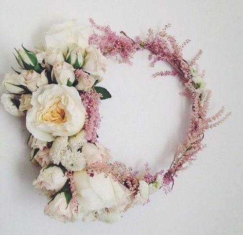 Corona de flores silvestres - Como Hacer una Corona de Flores DIY