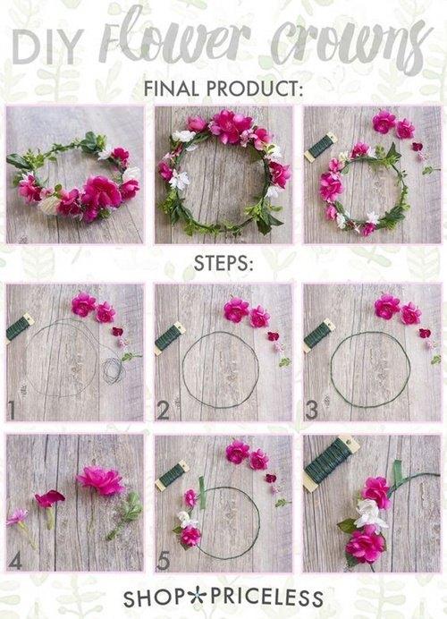 Como hacer diademas de flores para el pelo for Como construir una laguna artificial