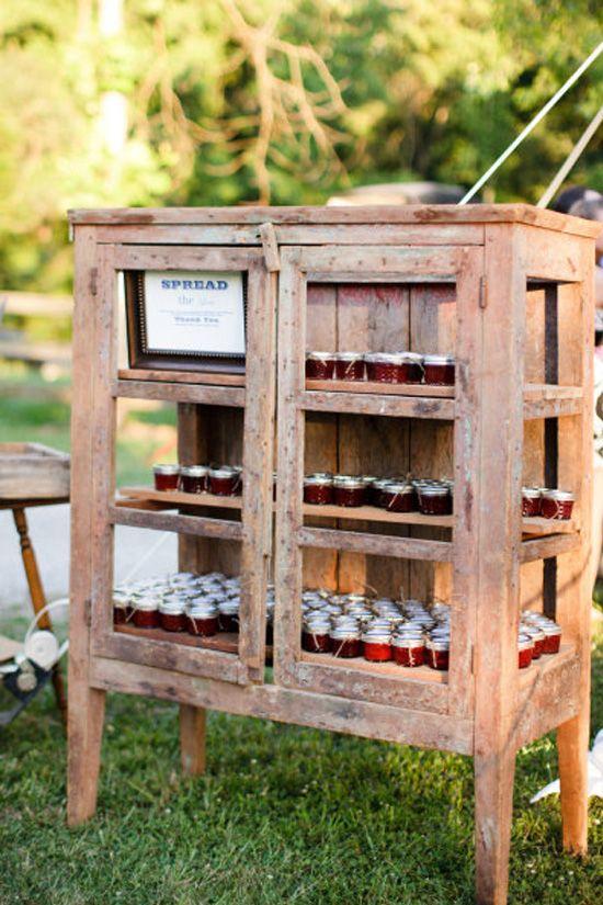Ideas para la decoraci n de bodas r sticas diario de una for Muebles para bodegas rusticas