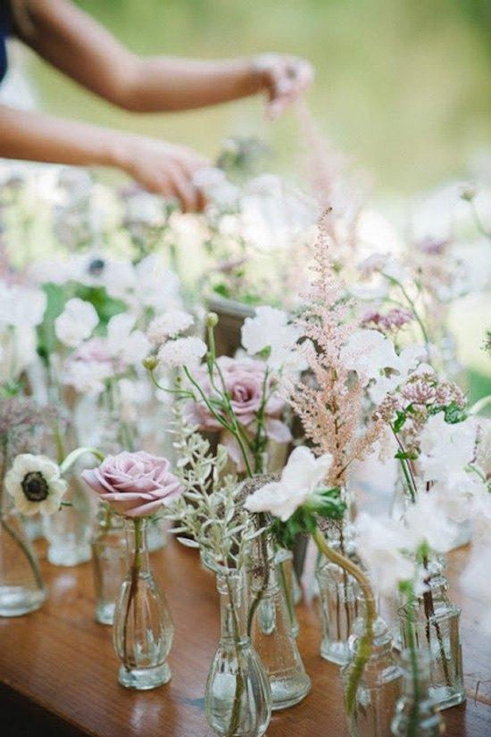 Ideas para la decoración de bodas rústicas   diario de una novia