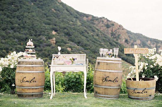 decoracin de bodas rusticas mueble vintage