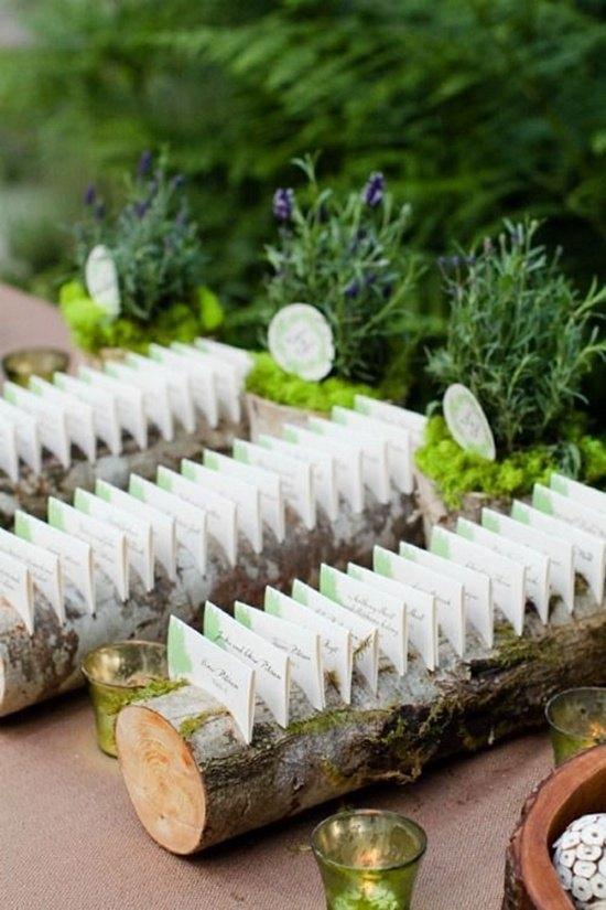 decoración de bodas rusticas seating - Ideas para la Decoración de Bodas Rústicas