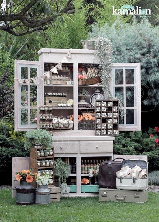 decoración de bodas rusticas vintage - Ideas para la Decoración de Bodas Rústicas