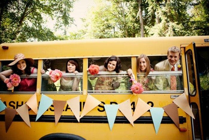 alquilar un autobús para mi boda