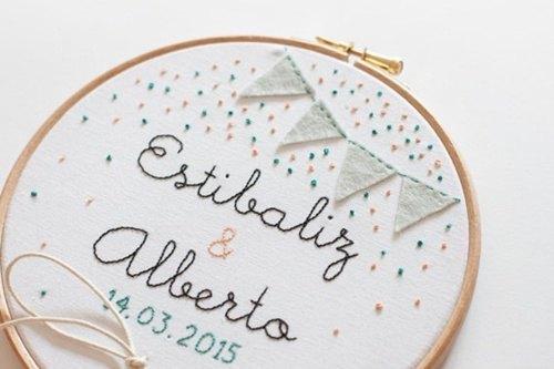 bastidores para bodas (etsy para bodas)