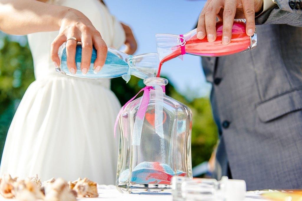 ceremonia de la arena para bodas