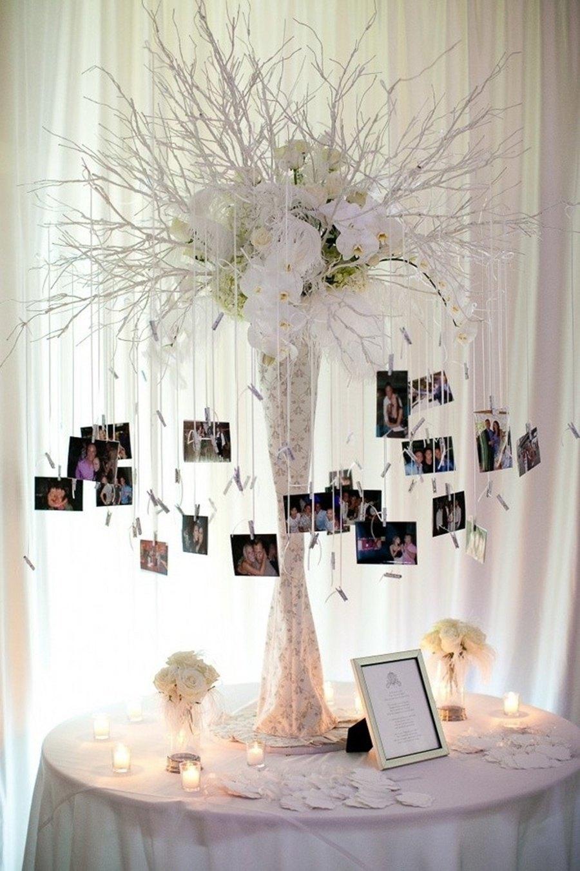 arbol de deseos con fotos polaroid