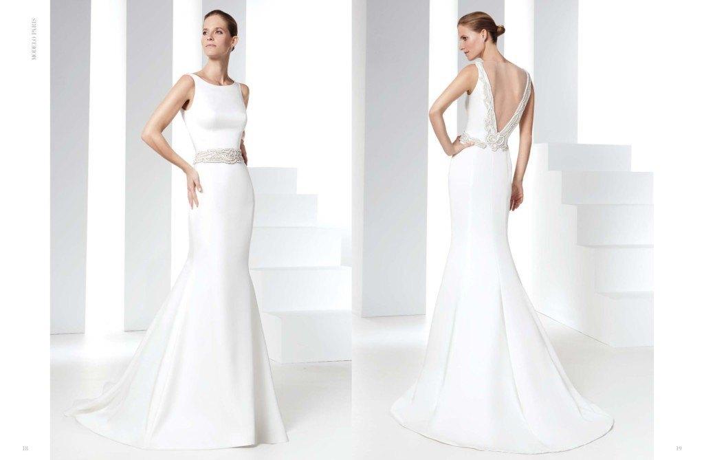 vestidos de novia sencillos raimon bundo