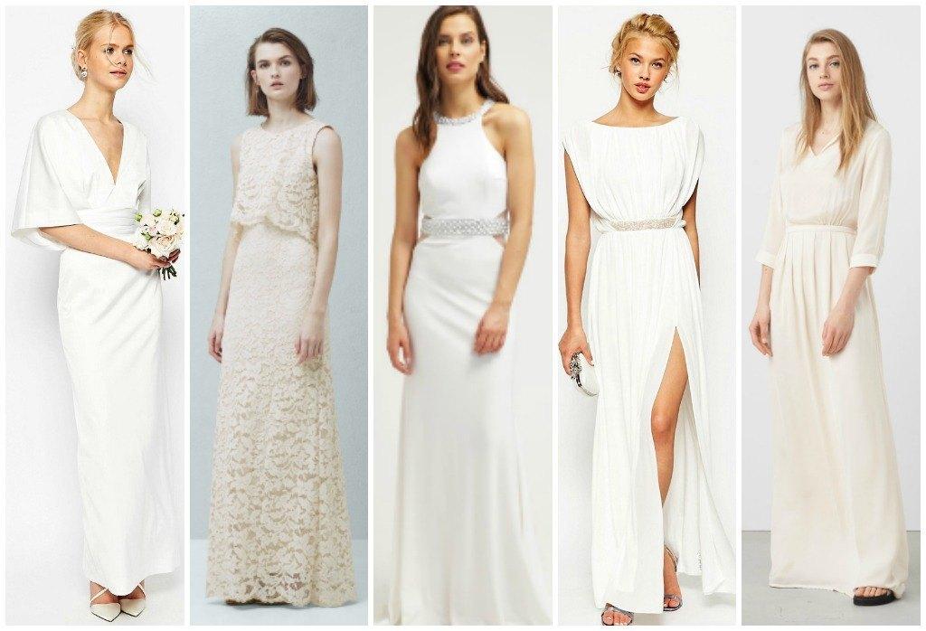 vestidos de novia sencillos y baratos