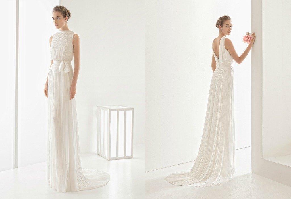 Vestidos de novia simples y baratos