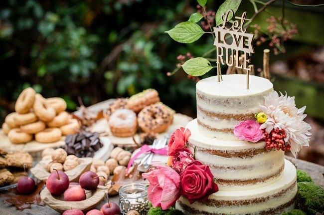 Mesa de Tartas como regalo para boda