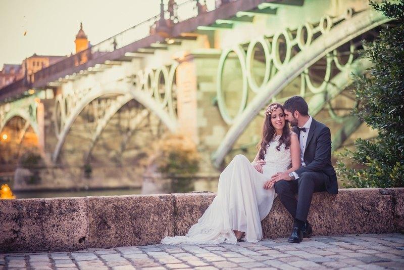 Postboda en Sevilla Puente Triana 2