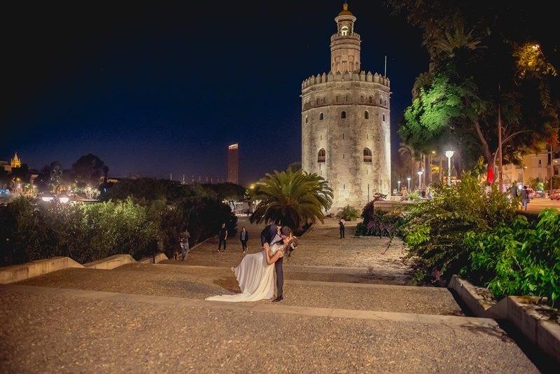 Postboda en Sevilla Torre del Oro