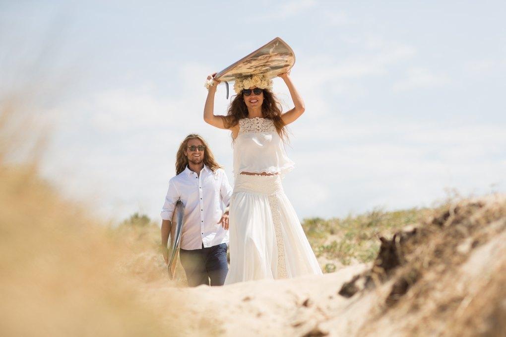 Portada boda surfera