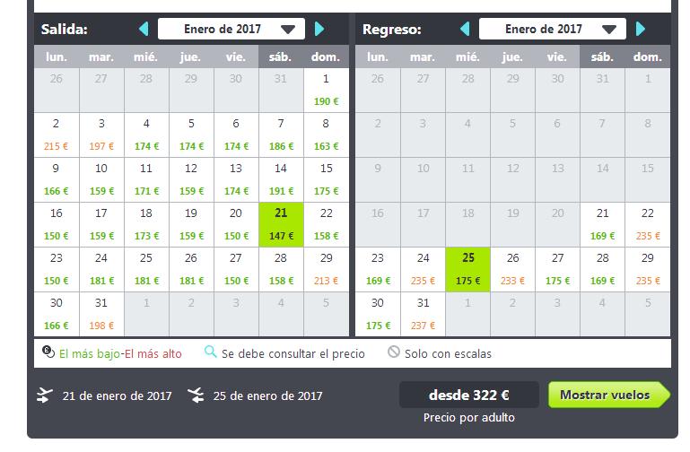 viaje barato a Nueva York en enero