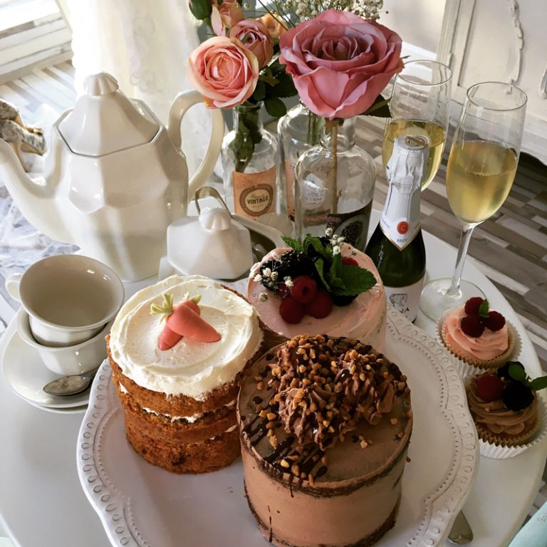 tarta para boda pequeñas - degustación