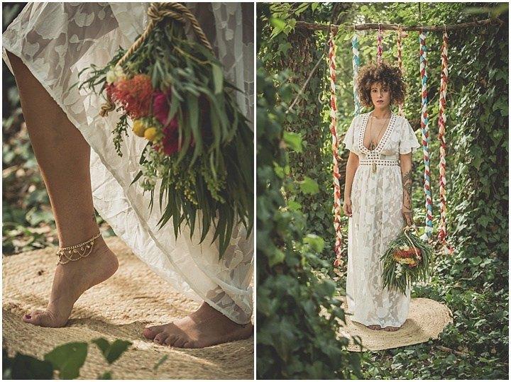 Inspiración boda bohemia - Editorial con Inspiración Bohemia: Love Wild, Love Free