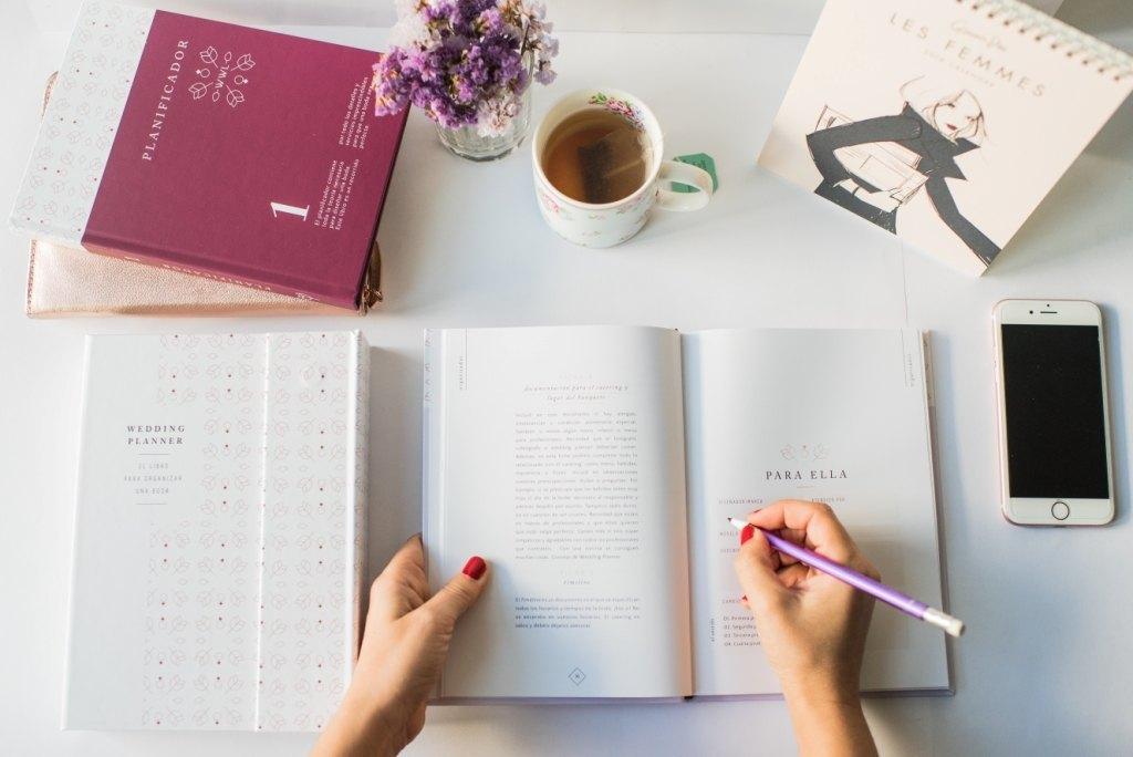Libro para Organizar una Boda - Agenda de Boda