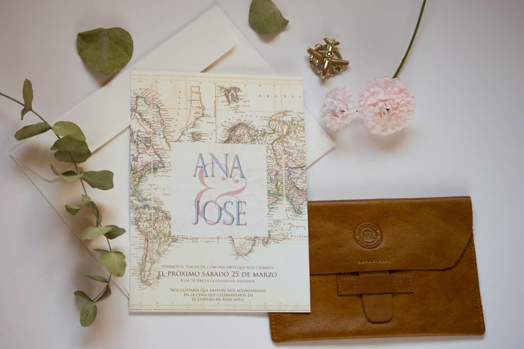 invitación de boda viajera wanderlust - Mis Mejores Deseos para el Nuevo Año
