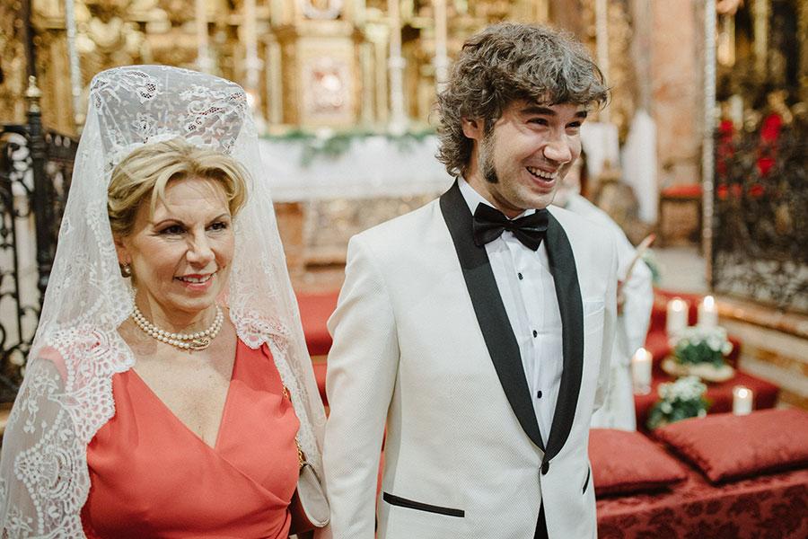 boda verbena en Sevilla - ceremonia