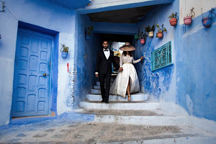 Boda Marrakech 21 - PostBoda en Chaouen, un Precioso Pueblo Azul en Marruecos