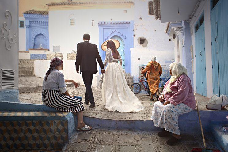 Boda Marrakech - PostBoda en Chaouen, un Precioso Pueblo Azul en Marruecos