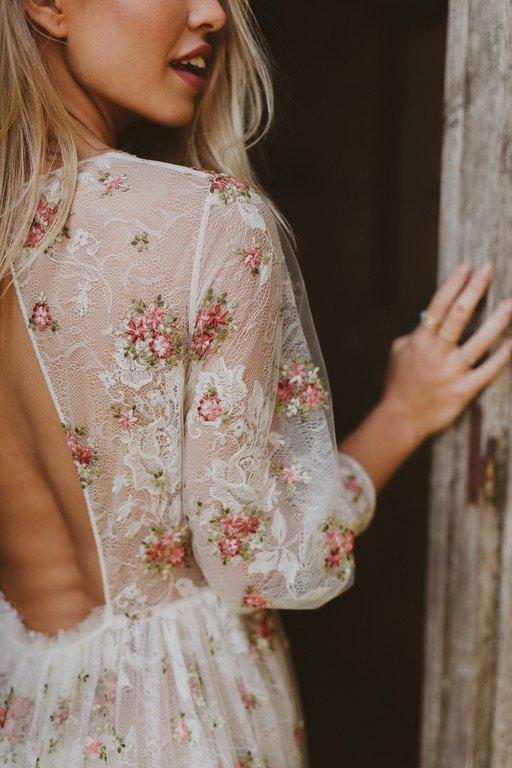 Vestido de Novia Bohemio Immacle Tanger 5