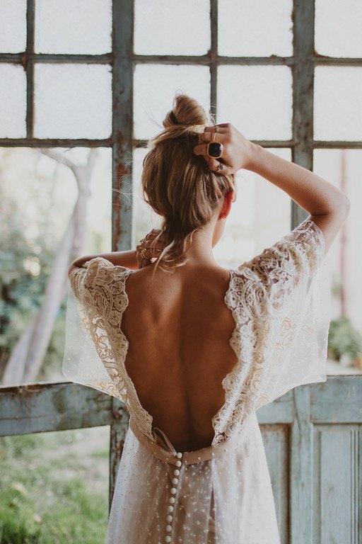 Vestido de Novia Bohemio Immacle Tanger 11