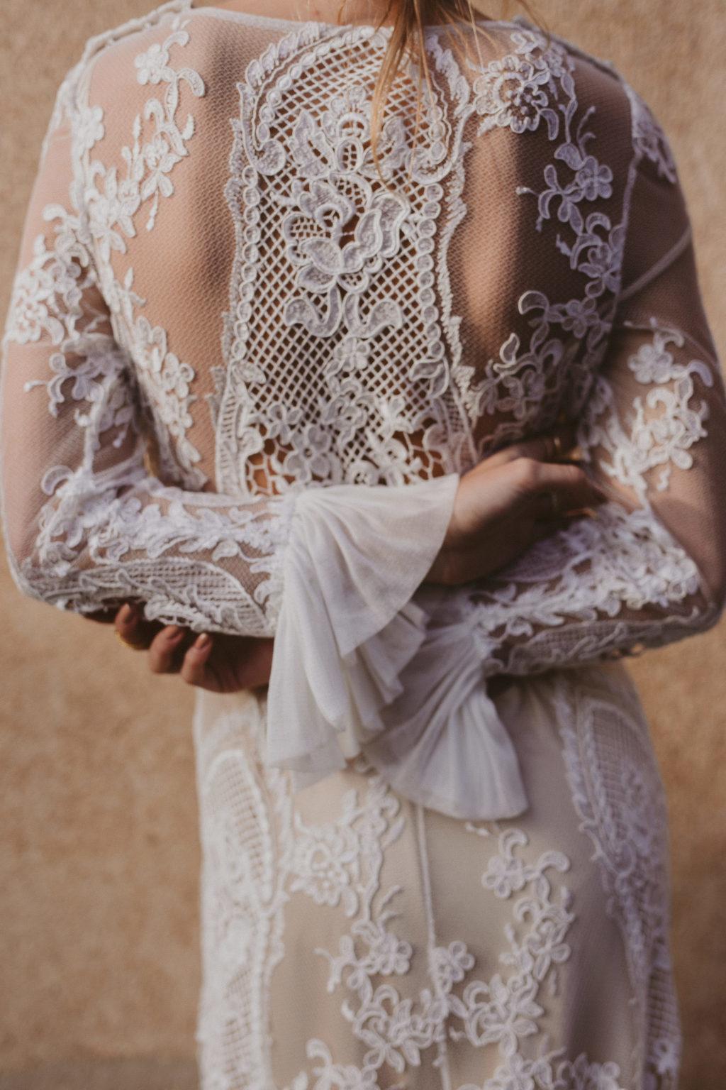 Vestido de Novia Bohemio Immacle Tanger 23
