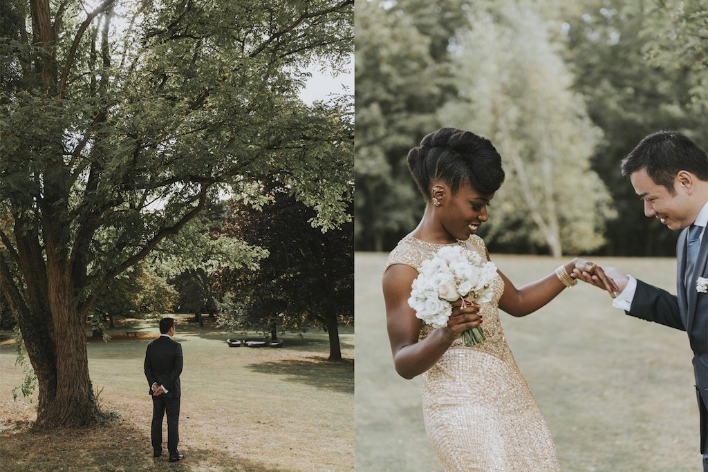 bride with a golden wedding dress 01198 SCM4762 - Maggy, La Novia con el Vestido Dorado