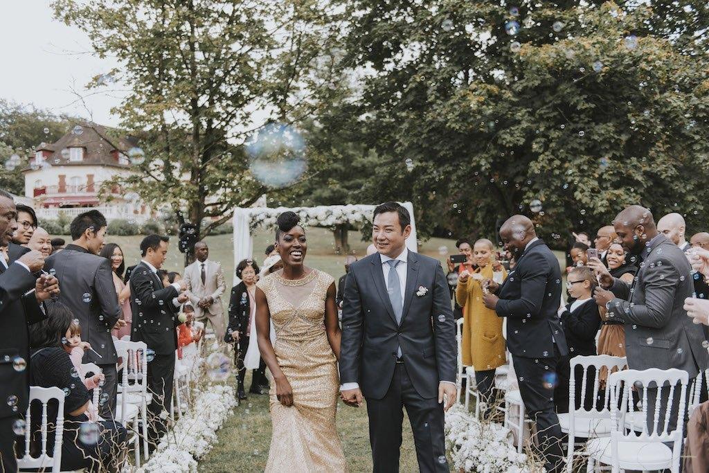 bride with a golden wedding dress 01476 SCM5603 - Maggy, La Novia con el Vestido Dorado