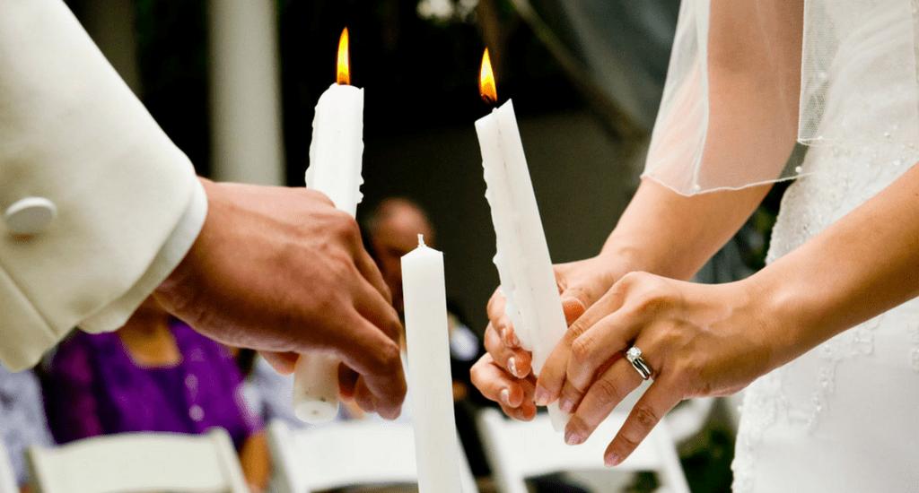 ceremonia de las velas y ceremonia de la luz