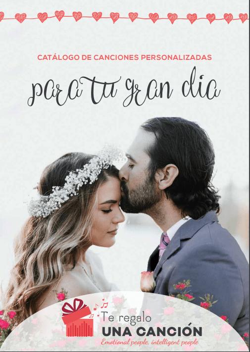 canciones personalizadas para bodas