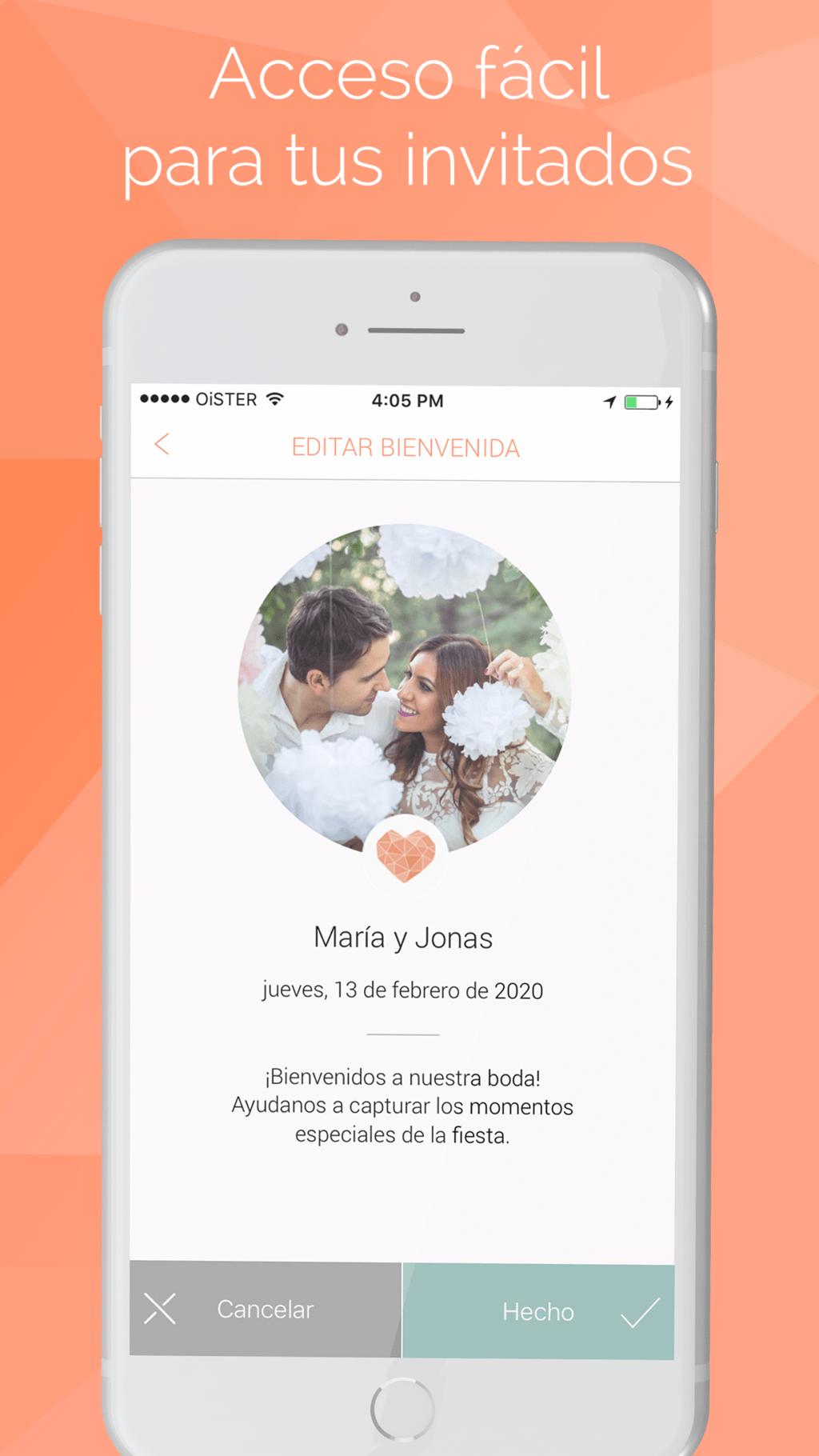 app para personalizar boda